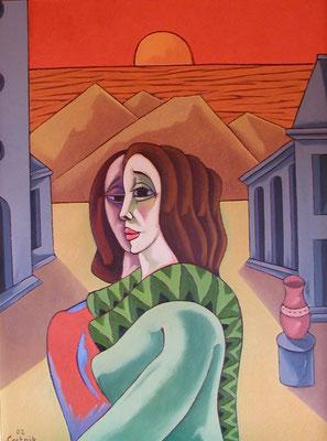 Erinnerung  2002  75 x 100