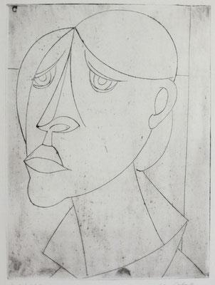 Trauernde  1958  23,5 x 32