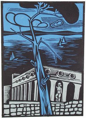 Ischia  1984  40 x 55