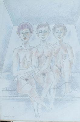 In der Sauna  1985