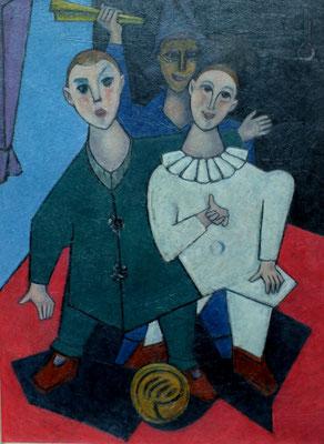 Drei Clowns  1954  82 x 112