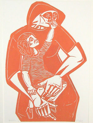 Mutter mit Kind I  1984  45 x 60