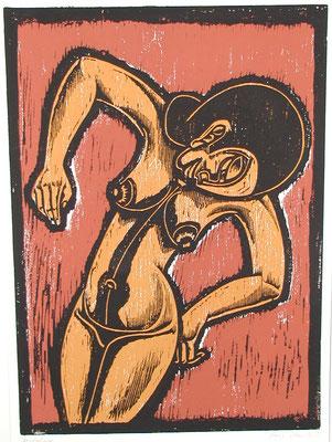 Frauenakt  1983  40 x 55
