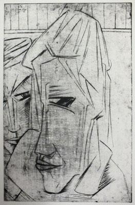 Paar  1963  42 x 52               ( 2 )
