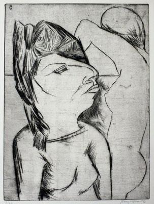 Freundinnen  1962  29,5 x 40        ( 1 )