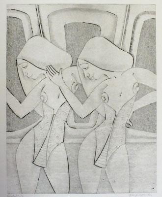 Tänzerinnen  1996  36 x 45