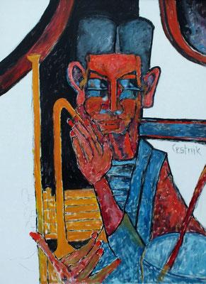 Musiker  2010  75 x 100