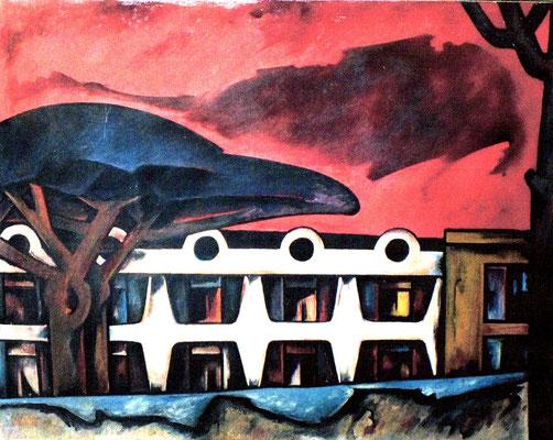 Hotel auf Ischia  I  1970   108 x 84