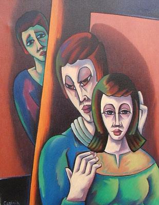 Liebespaar  1994  76 x 100