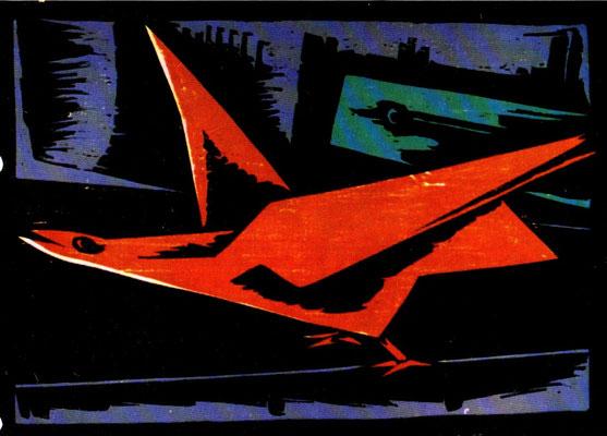 Laufender Vogel  1966    65 x 47