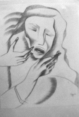 Schmerz  1969    41,5 x 54,5