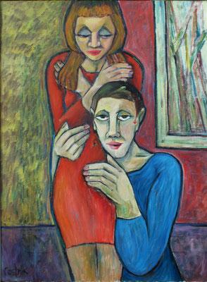 Paar  2007  75 x 100