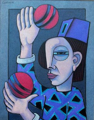 Kleiner Artist  1982  60 x 80