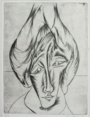 Porträt    1963    29,5 x 40              ( 2 )