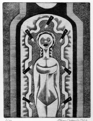 Artistin  1968  15 x 20