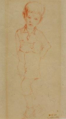 Rainer ( Sohn ) 1949  24 x 31 ( Rötel )
