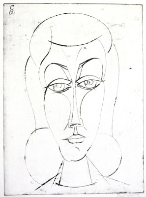 Kopf  1980  29,5 x 39,5           ( 2 )