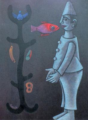 Der Wunderbaum  1985  85 x 115