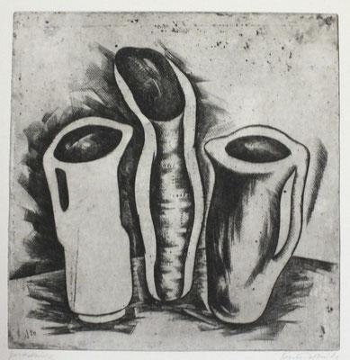 Krüge  1967  30 x 31                     ( 4 )