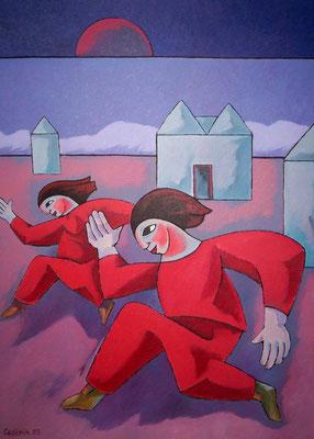Rote Läufer  2005  85 x 115