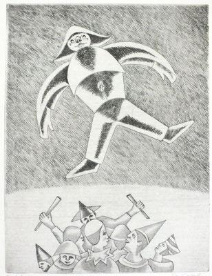 Zirkus II  1996  30 x 39,5