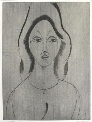 Frauenbildnis  1996  29,5 x 39,5