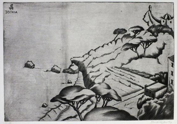 Ischia XI  1973  40 x 28