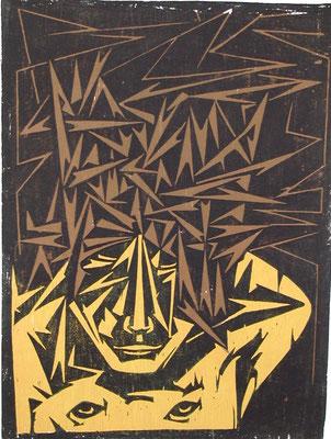 Dornenmann  1966  45 x 60