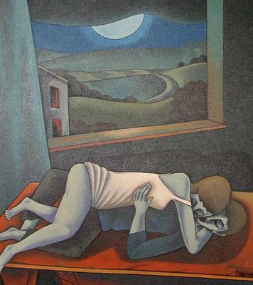 Liebende  1996  100 x 120