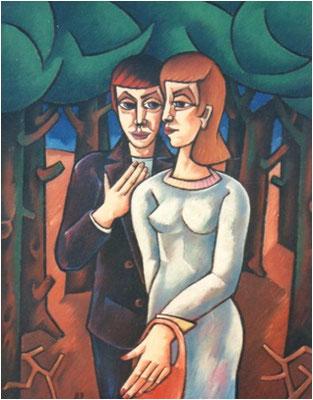 Im Wald  1989  85 x 115
