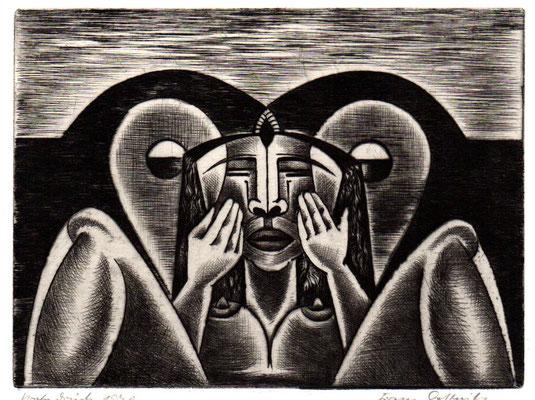 Nacht  1970  20 x 15           ( 1 )