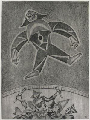 Zirkus I   1996  29,5 x 39,5        ( 3 )