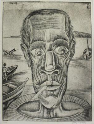 Ischia ( Fischer )  1973  30 x 40