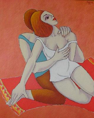 Liebespaar  2001  80 x 100