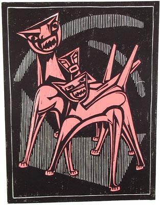 Höllenhunde 1982  45 x 61