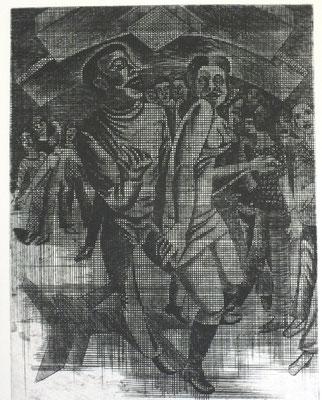Discothek  1976  30 x 39