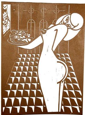 Salome  1979  39 x 53