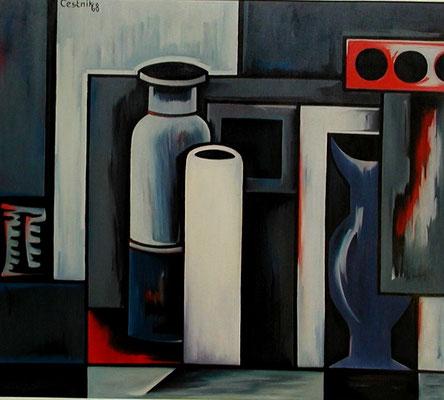 Gefäße  1968  85 x 72