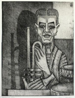 Musiker  1979  30 x 39,5     ( 2 )