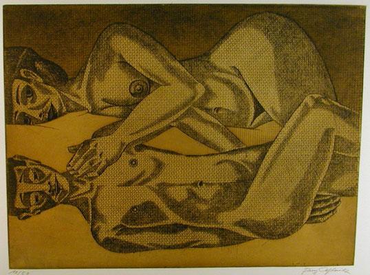 Paar II  1977  39,5 x 30                 ( 2 )