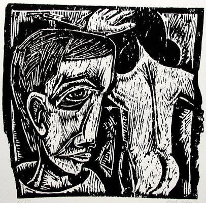 Traum  1962  42 x 40            Platte vorhanden