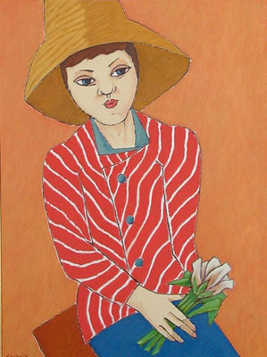 Mädchenbildnis  1991  60 x 80