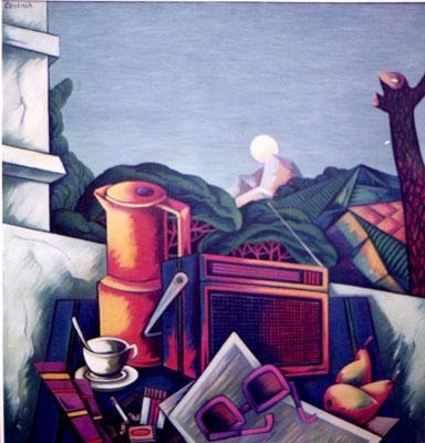 Südliches Stillleben ( Ischia )  1984    100 x 105
