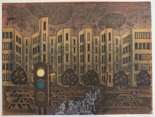 Straße  1976 39,5 x 29,5