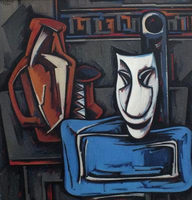 Stillleben mit Maske  1964  87 x 91