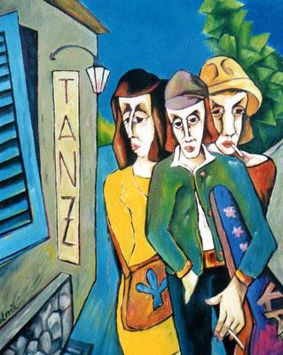 """Band  """" Karo """"  2007  95 x 115"""
