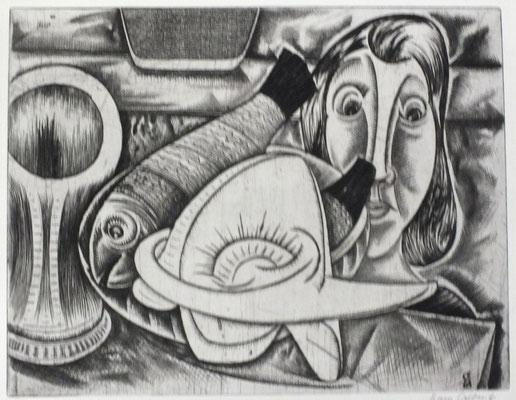 Komposition  1961  38 x 30
