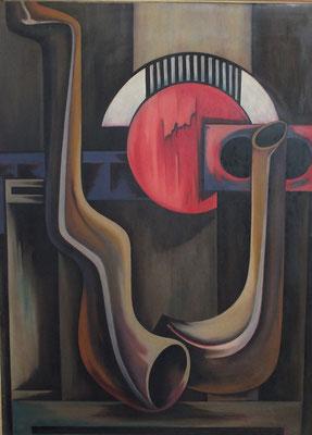 Komposition  1970    70 x 95