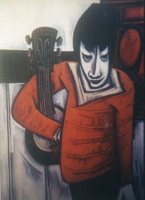 Banjo Spieler  1966    88 x 115
