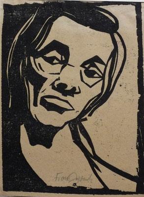 Tante Mina  1948  15,5 x 20